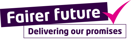Fairer future: Delivering our promises